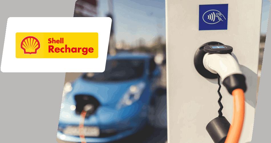 Shell Recharge laadpas aanvragen
